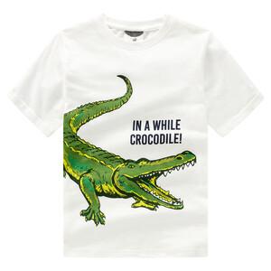 Jungen T-Shirt mit Krokodil-Motiv