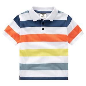 Jungen Poloshirt im Ringel-Look