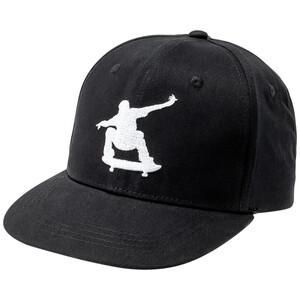 Jungen Kappe mit Skater-Stickerei