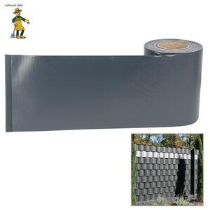 Grüner Jan PVC-Sichtschutz-Streifen 35m Anthrazit