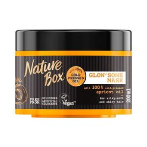 Nature Box Glow´some Mask Apricot Oil Haarmaske 200ml