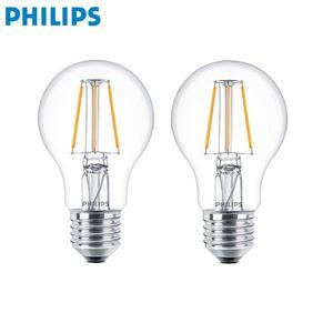Philips LED-Lampe Birnenform 4,3W E27 2er-Set