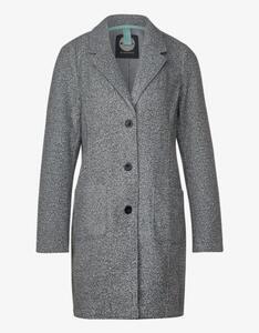 Street One - Mantel im Blazer-Style, Curly-Woll-Optik
