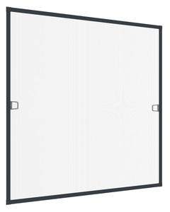Powertec Insektenschutz Plus Rahmen Fenster 140x150cm Anthrazit