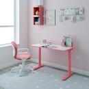 Bild 2 von HC Home & Living höhenverstellbarer Kinderschreibtisch - Rosa