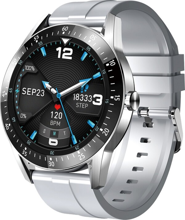 Jay-Tech Smartwatch SWS11 Silber/Grau