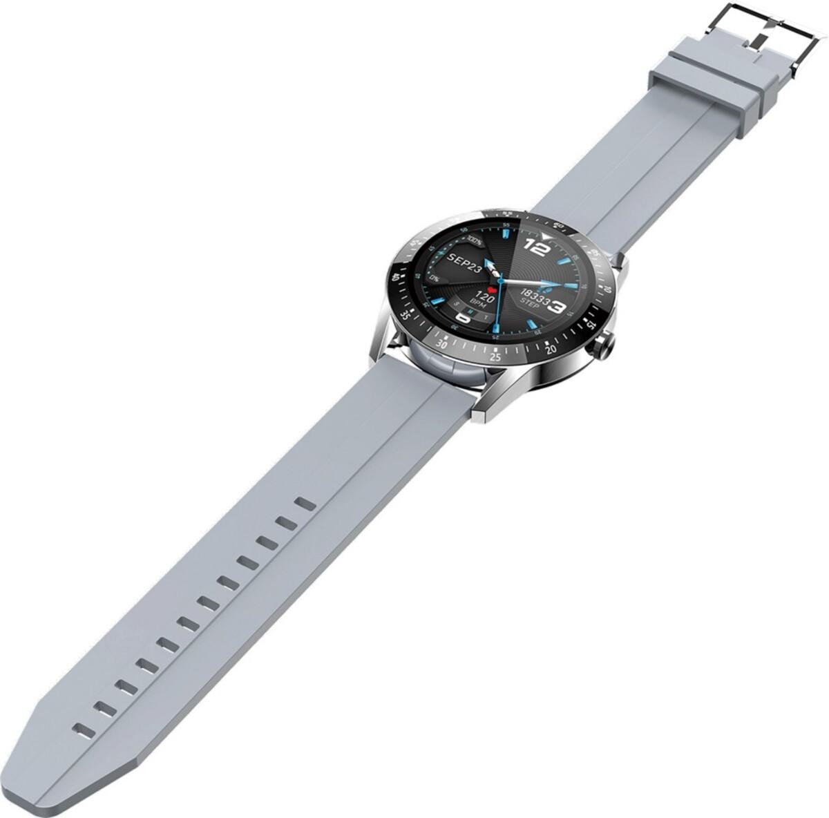 Bild 3 von Jay-Tech Smartwatch SWS11 Silber/Grau