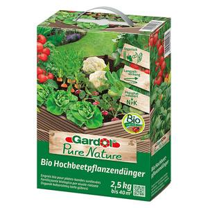 Gardol Pure Nature Bio-Hochbeetpflanzendünger