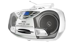Karcher tragbares CD-Radio RR 510 (N) W