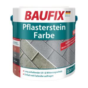 BAUFIX Pflasterstein Farbe rot 2,5L