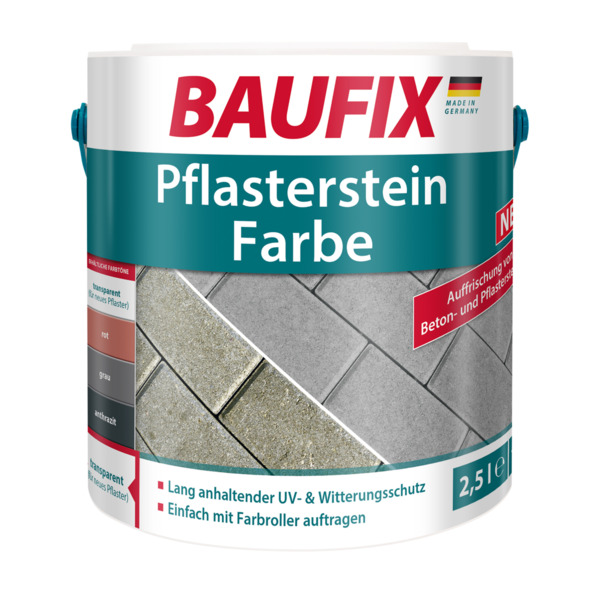 BAUFIX Pflasterstein Farbe transparent 2,5L