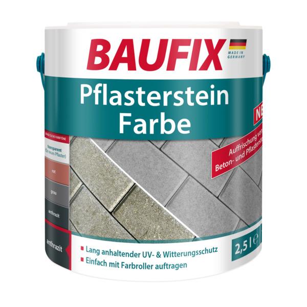 BAUFIX Pflasterstein Farbe anthrazit 2,5L