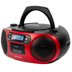 Aiwa BBTC-550RD tragbares Hifi Radio rot
