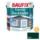 Bild 1 von BAUFIX 2in1 Express Deckfarbe grün 2,5 L 2er Set