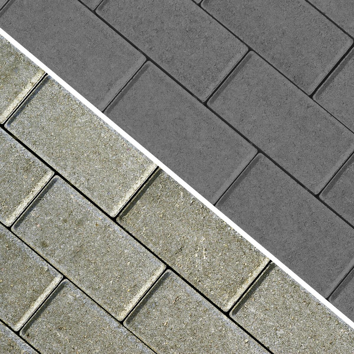 Bild 2 von BAUFIX Pflasterstein Farbe grau 2,5L 2er Set