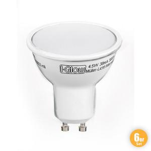 I-Glow LED-Leuchtmittel, GU10 - 6er-Set