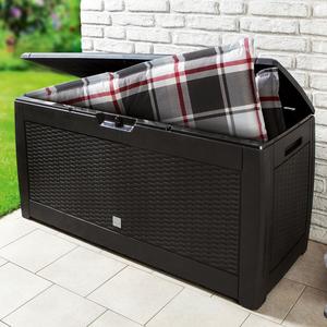 Powertec Garden Aufbewahrungs-Box 310L - Anthrazit