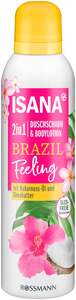 ISANA 2in1 Duschschaum & Bodylotion Brazil Feelings