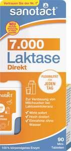 sanotact® Laktase 7.000 Direkt Mini-Tabletten