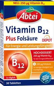 Abtei Vitamin B12 Plus Fölsäure Tabletten