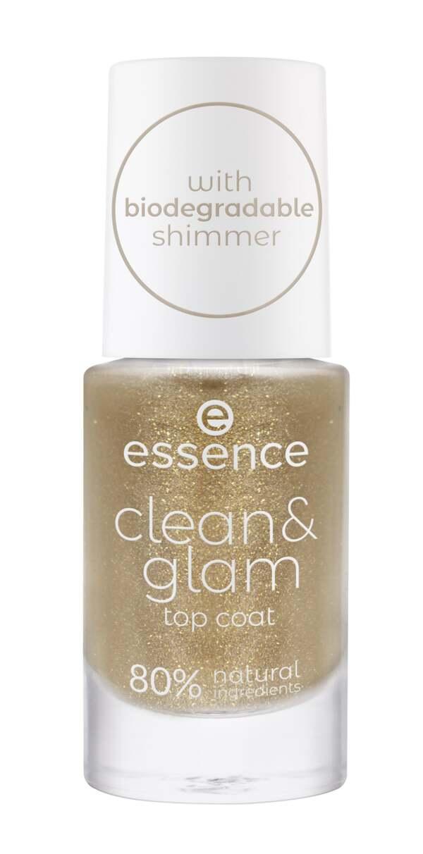 essence clean & glam top coat