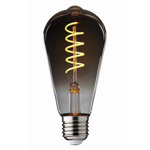 Stiltalent® by toom LED-Leuchtmittel Kolben 'Smoky' E27 4 W 100 lm
