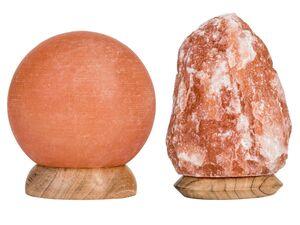 LIVARNO LUX® Salzkristalllampe, E14, 15 W, handgefertigt