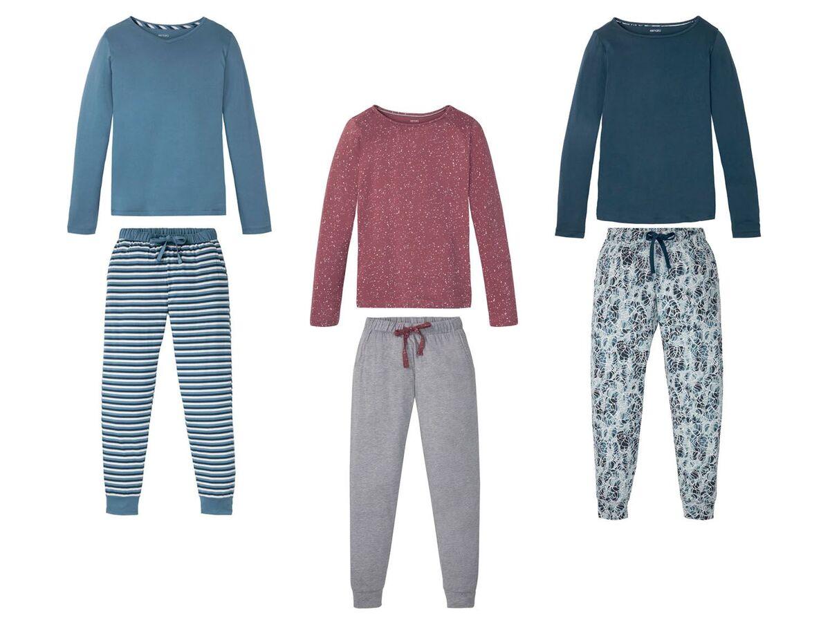 Bild 1 von ESMARA® Pyjama Damen, mit Gummizugbund, mit Baumwolle