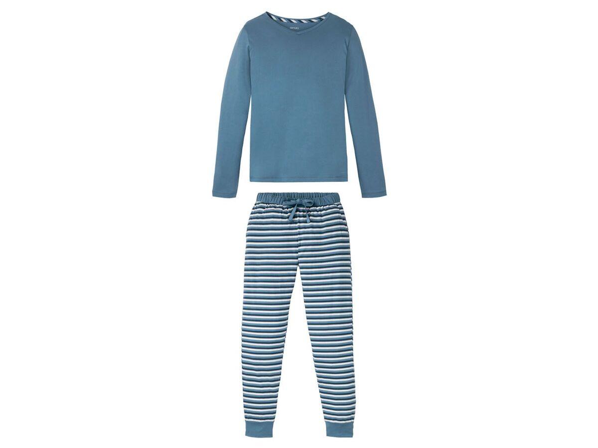 Bild 2 von ESMARA® Pyjama Damen, mit Gummizugbund, mit Baumwolle