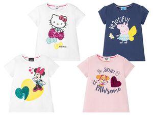 Kleinkinder T-Shirt Mädchen, aus reiner Baumwolle