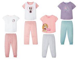 Kleinkinder Pyjama Mädchen, mit Baumwolle