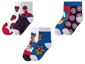 Kleinkinder Socken Jungen, 2 Paar, mit Baumwolle