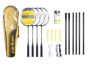 Slazenger Badminton Set  Powerblade Tournament  4 Spieler