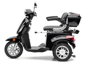 Nova Motors Elektroroller »Bendi«, dreirädriges Seniorenmobil, Krückstockhalter , Topcase