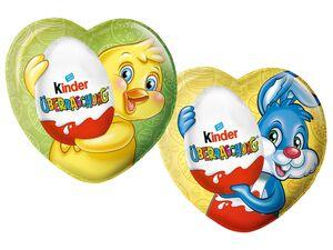 Kinder Schokolade Herz mit Überraschung