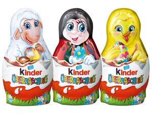 Kinder kleine Osterhasen mit Überraschung