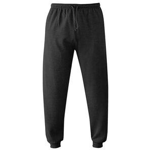 Herren Loungewear-Hose schwarz Gr. XL