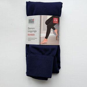 Damen-Legging marine Gr. L/XL