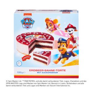 PAW PATROL     Erdbeer-Sahne-Torte