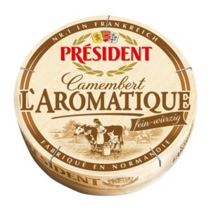 PRÉSIDENT     Camembert L`Aromatique