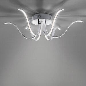 LED-Deckenleuchte Valerie, Chrom