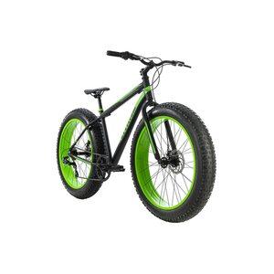 KS Cycling Mountainbike MTB Fatbike Fat-XTR für Herren, Größe: 46, Schwarz