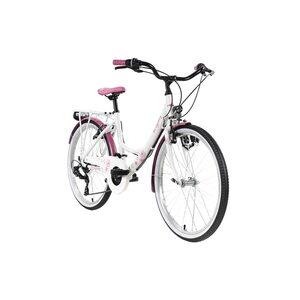 """KS Cycling Kinderfahrrad 24"""" Dandelion Alu Rahmen für Mädchen, Größe: 41, Pink"""