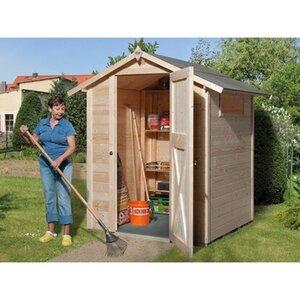 OBI Holz-Gartenhaus Kompakt A 154 cm x 150 cm