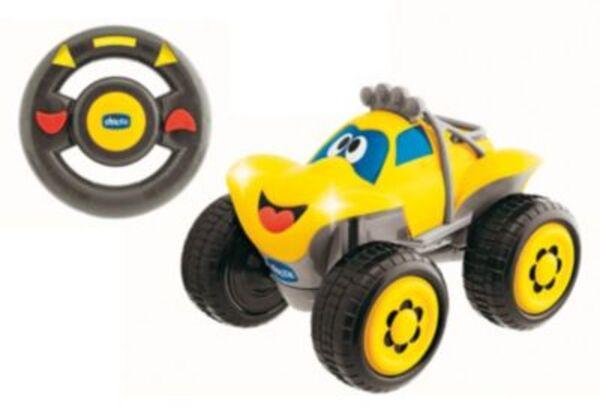 CHICCO R/ C Fernlenk-Auto Billy Big Wheels  gelb