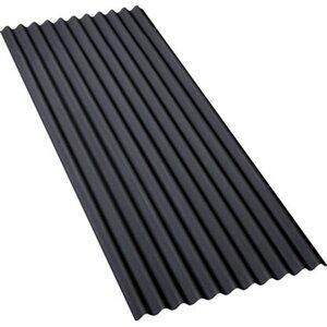 Bitumenwellplatte Schwarz 200 cm x 83 cm