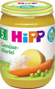 HiPP Bio Menü Gemüse-Allerlei 0.42 EUR/ 100 g (6 x 190.00g