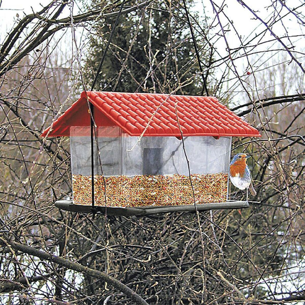 Bild 1 von Vogelfutterhaus aus Kunststoff