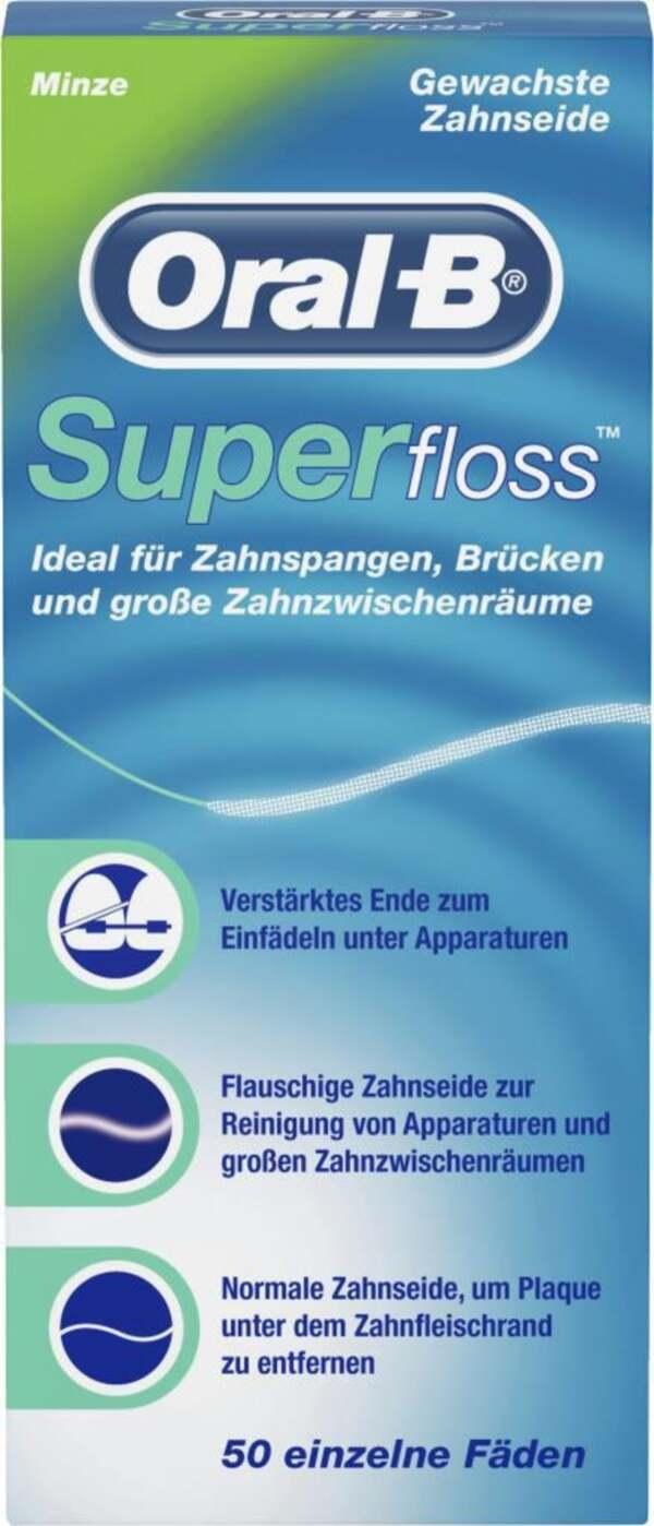Oral-B              Zahnseide Superfloss