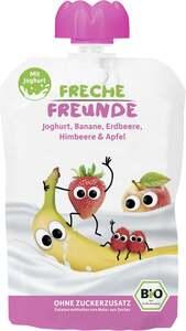 erdbär Bio Freche Freunde im Joghurt Erdbeere & Himbeere im Joghurt